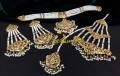 BEAUTIFUL HYDERABADI DESIGN GULUBAND COMPLETE BRIDAL SET