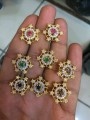 GOLD PLATED ZIRCON INDIAN TOPS