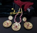 BEAUTIFUL HYDEARBADI DESIGN DORA PENDANT SET