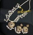 HYDERABADI DESIGN MATCHING MALA PENDANT SET