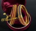 BEAUTIFUL DESIGN TRADITIONAL LOOK 2 PIECES BANGLE
