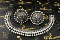 Simple Party Wear NECKLACE SET with Pearl Studded