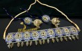TRADITIONAL LOOK POLKIE STONES GULUBAND SET