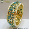 STYLISH HYDERABADI LOOK WITH GOLDEN BASED BANGLE