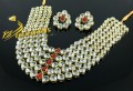 BEAUTIFUL DESIGN FINE QUALITY KUNDAN STONES 5 LAYERS HEAVY SET