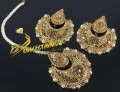 BEAUTIFUL DESIGN TRADITIONAL LOOK EARRING MATCHING TEEKA