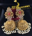 BEAUTIFUL DESIGN GOLDEN BASED LONG JHUMKI