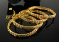 TRADITIONAL LOOK NAURATAN 4 PIECES BANGLE