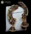 STYLISH GOLDEN BASED POLKIE & KUNDAN INDIAN EARCUFF