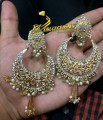 GOLDEN BASED POLKIE STONES EARRING