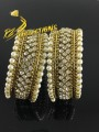 BEAUTIFUL DESIGN GOLDEN BASED BRACELET