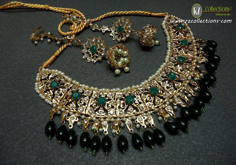 Rz Traditional Necklace Set 0102 Rz Collections