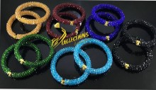 Colorful Crystals Casual Wear BANGLES
