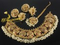 NEW DESIGN TRADITIONAL LOOK NECKLACE SET