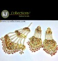 STYLISH HYDERABADI EARRING ALONG WITH MATCHING JHOOMER