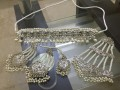 HYDERABADI DESIGN SILVER BASED BRIDAL SET