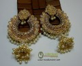 STYLISH TRADITIONAL LOOK WITH SEMI STONES JHUMKI