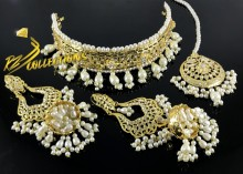 HYDERABADI DESIGN FINE QUALITY NECK SET